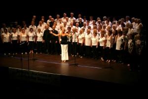 SABS Chorus Open the Show