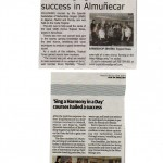 Newspaper cuttings of SHIAD CDS 2014